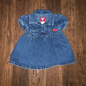 GUESS baby jean dress